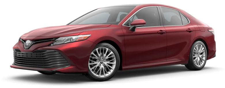 Ruby Flare Pearl 2019 Toyota Camry