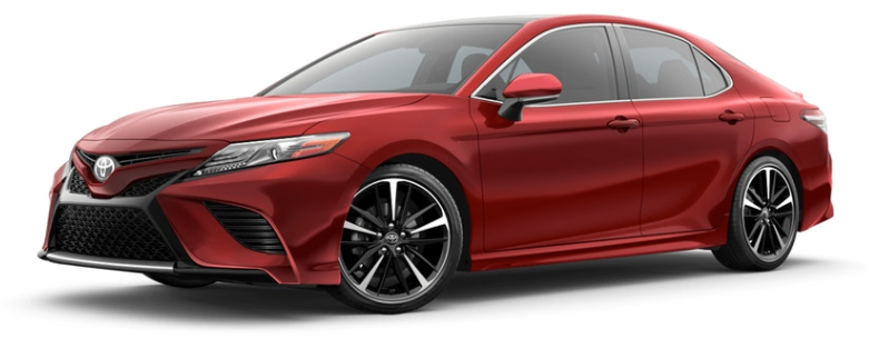 Super Sonic Red 2019 Toyota Camry