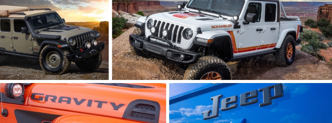 Jeep and Mopar Debut Moab Easter Jeep Safari Concept Vehicles