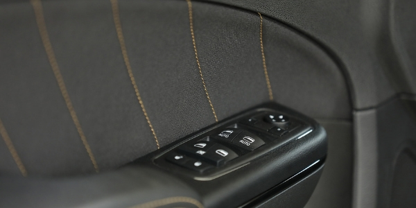 Closeup of door detailing in Dodge Charger Stars & Stripes Edition