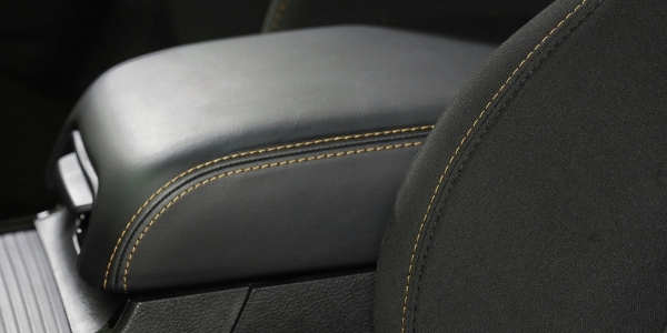 Closeup of detailing in Dodge Charger Stars & Stripes Edition