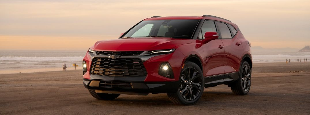 What Colors Does the 2019 Chevy Blazer Come in?