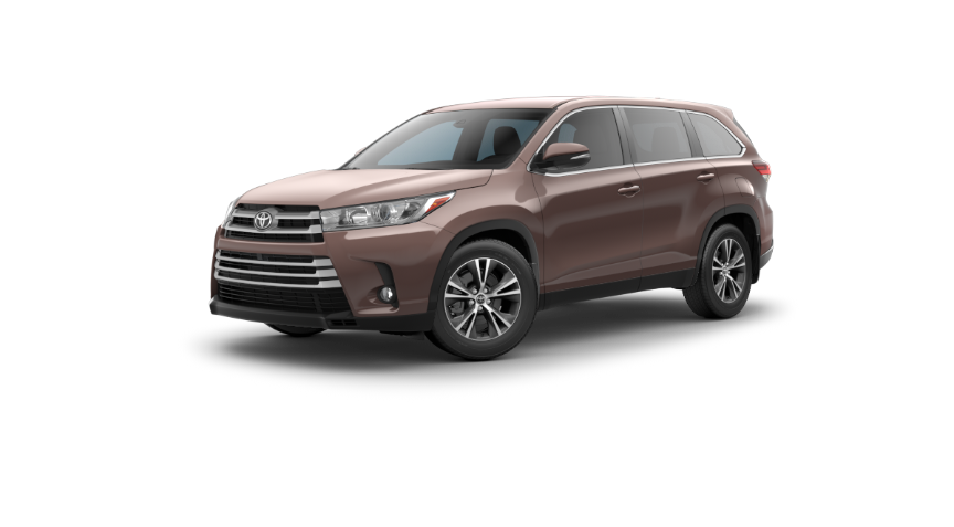 2019 Toyota Highlander in Toasted Walnut Pearl