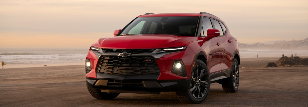 How much cargo space does the 2019 Chevy Blazer offer?