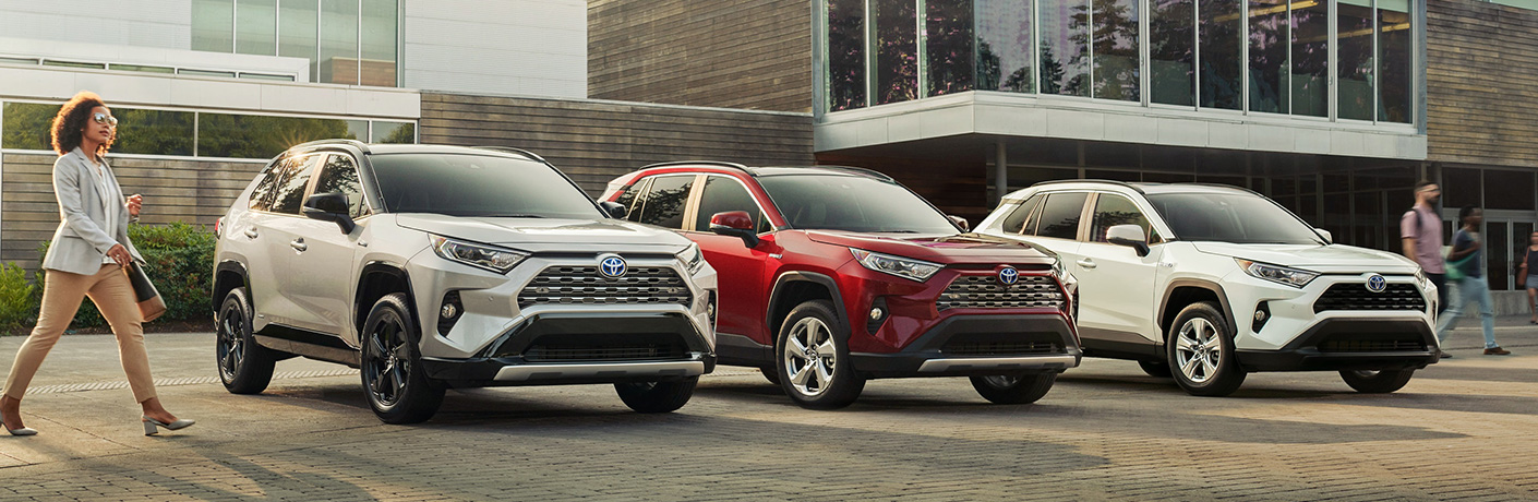 2019 Toyota RAV4 Hybrid Specs and Features