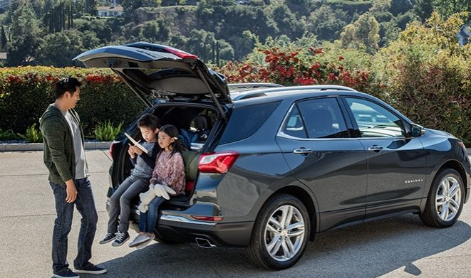liftgate open on 2019 equinox