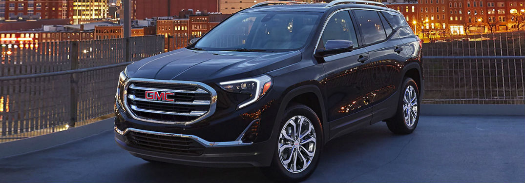 2020 GMC Terrain front and side profile
