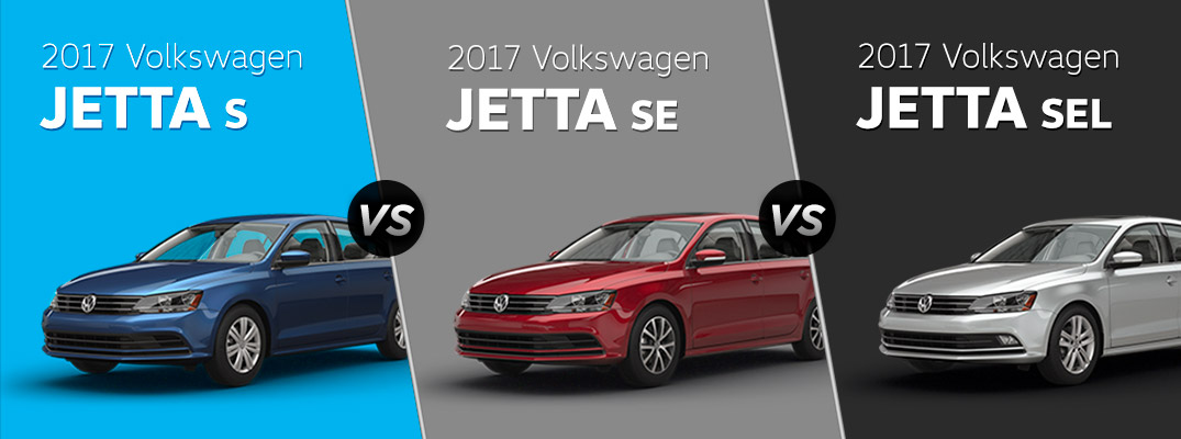 2017 volkswagen jetta s vs se vs sel. Black Bedroom Furniture Sets. Home Design Ideas