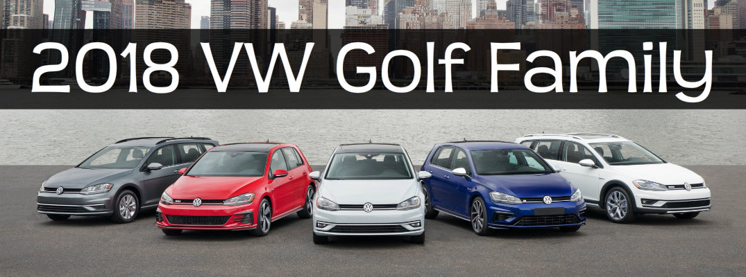 2018 Volkswagen Golf Family at New York International Auto Show