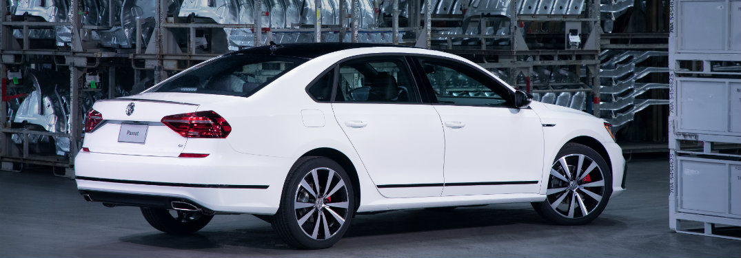 2018 Volkswagen Passat parked in a building