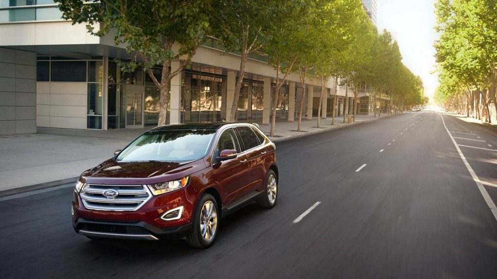 The  Ford Edge Is A Smart Agile Suv Backed By The Dependability Of Ford For The  Model Year A Few Technology And Appearance Packages Have Been