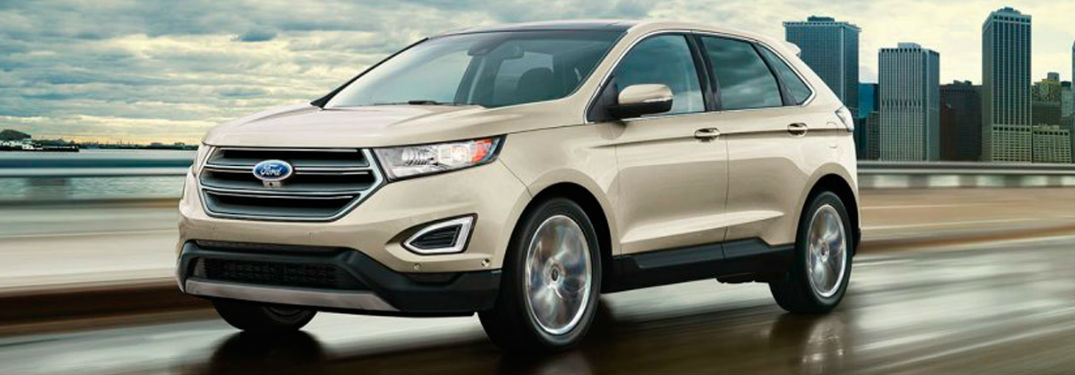 Ford Edge In White