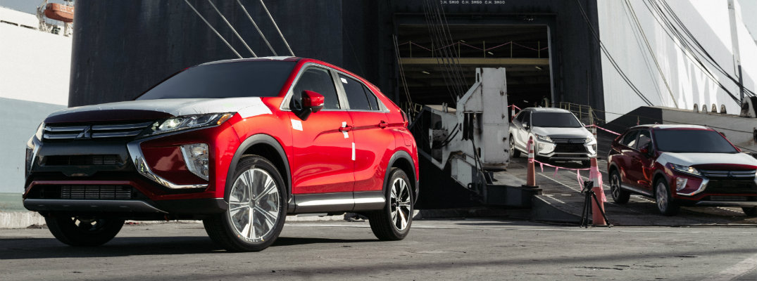 2019 Mitsubishi Eclipse Cross models rolling off the assembly line