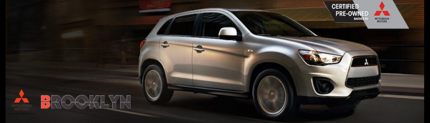 Consider a Certified Pre-Owned Mitsubishi!