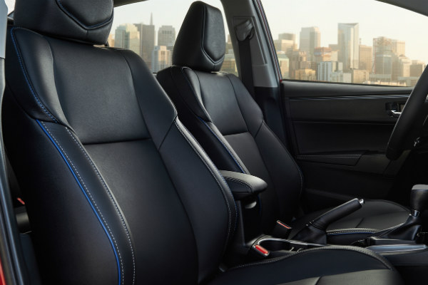 What Seat Trims Are Available In The 2017 Toyota Corolla