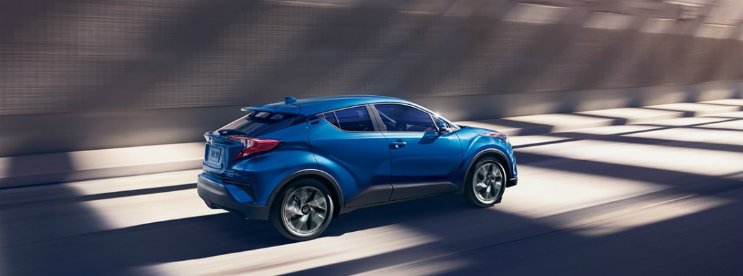 What makes the 2018 Toyota C-HR sporty?