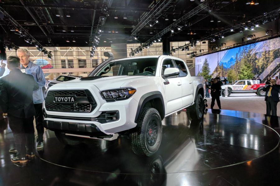 new 2019 toyota trd pro photos video and release date information. Black Bedroom Furniture Sets. Home Design Ideas