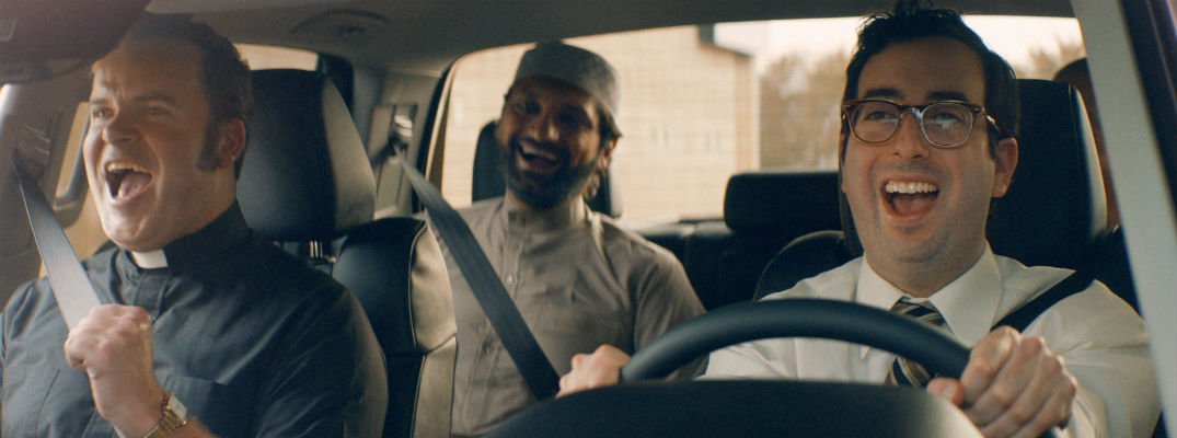 A still photo taken from one of the ads Toyota ran during the 2018 Super Bowl