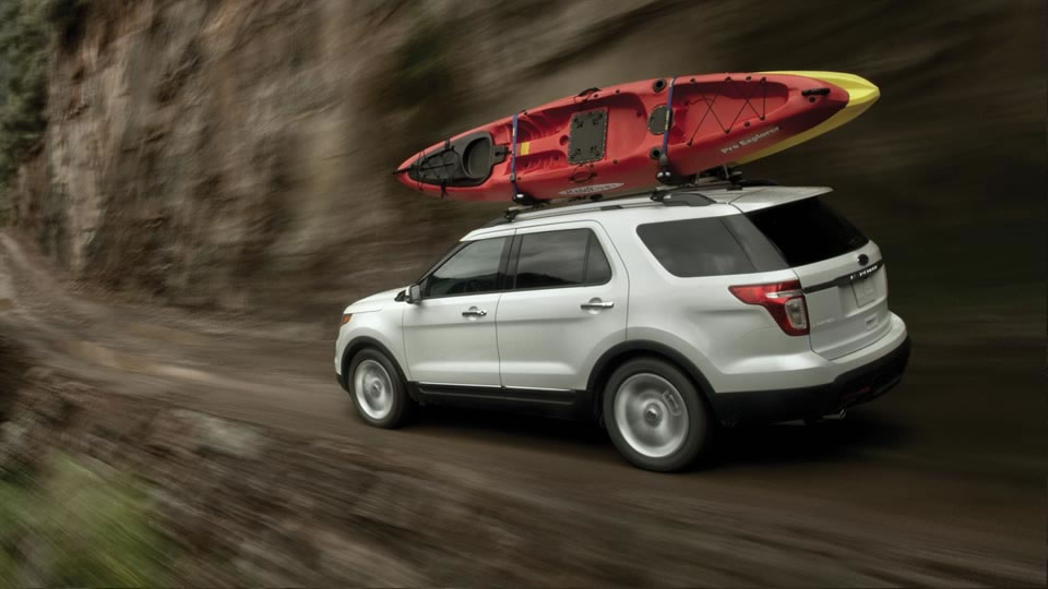 2015 Ford Explorer outdoor accessories