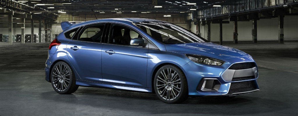 2016 Ford Focus Rs Awd Performance Specs