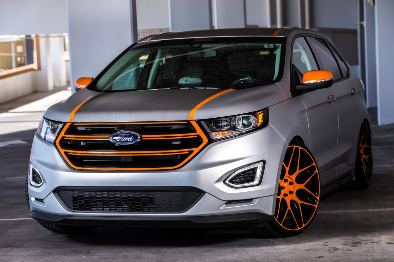 Ford Escape Raptor Grille >> Ford Photos SEMA 2015