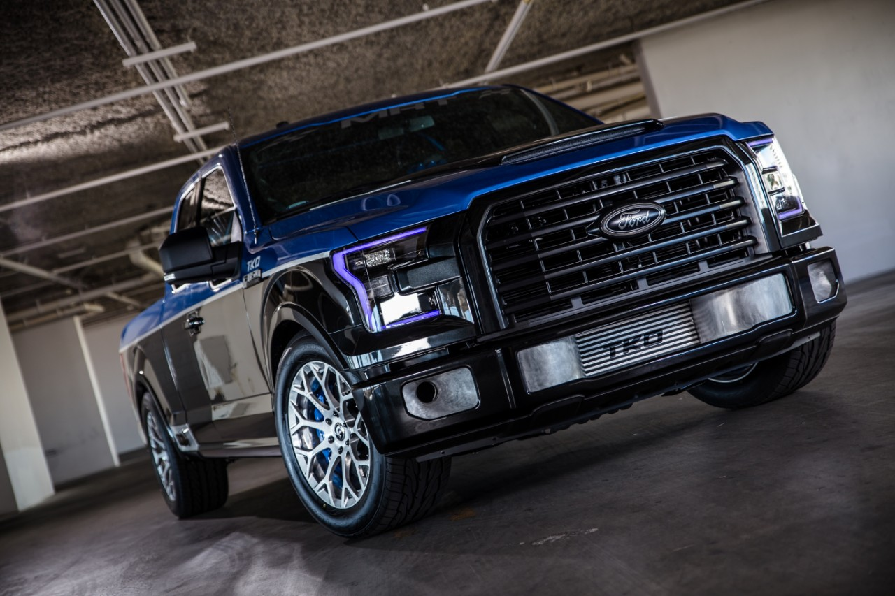 Customized Mustang >> f150-sema - Les Stumpf Ford