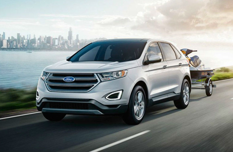 Ford Edge Offers Drivers Perfect Combination Of Versatility And Capability In A New Suv  Ford Edge Capability