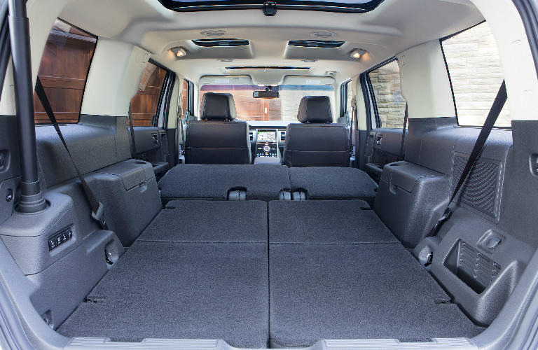 Capability And Versatility Top The List Of 2017 Ford Flex Qualities » 2017 Ford  Flex Interior Cargo Space