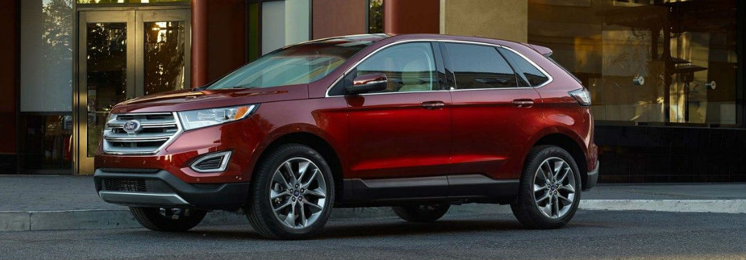 2018 ford edge passenger and cargo space. Black Bedroom Furniture Sets. Home Design Ideas