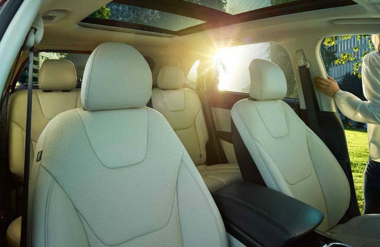 Ford Edge Interior Passenger Space