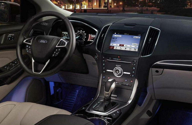 Ford Edge Front Dashboard