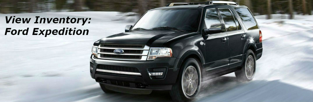 Ford Expedition Driving On Snow