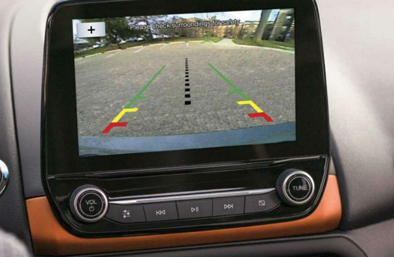 Ford Ecosport Rear View Camera