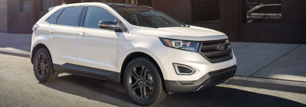 Ford Edge Parked On Road