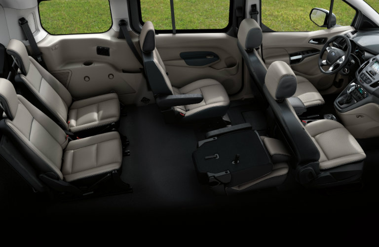 2018 Ford Transit Connect Passenger Seats