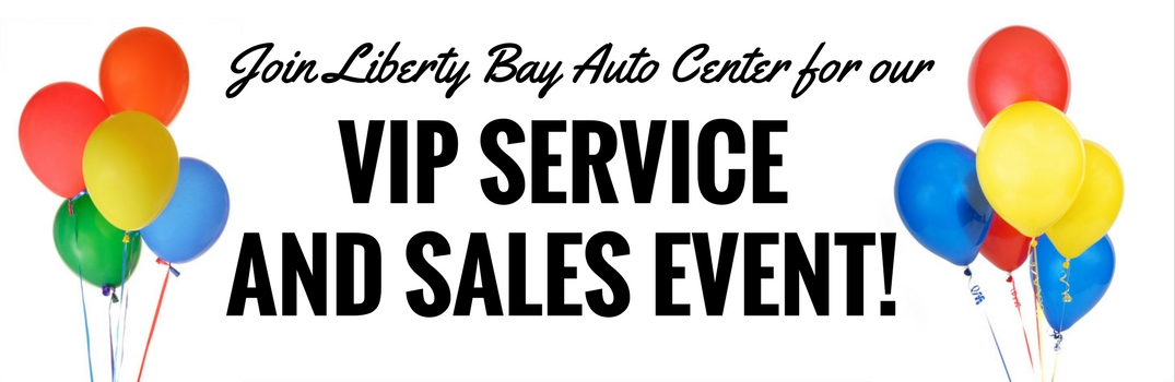 End of Summer Service and Sales Event at Liberty Bay Auto Sales