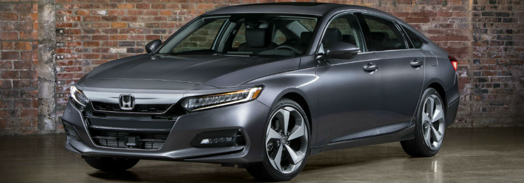 2018 Honda Accord in gray