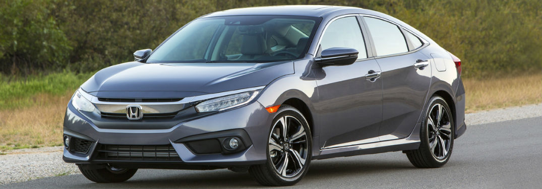 2018 Honda Civic in gray