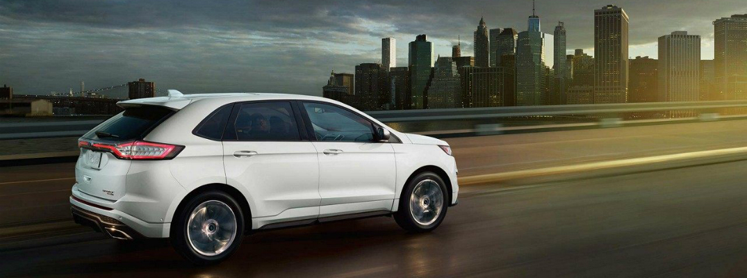 2018 Ford Edge Heading into the city with the 2.7L EcoBoost