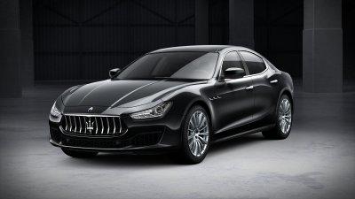 2018 Maserati Ghibli in Nero Ribelle