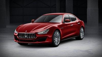 2018 Maserati Ghibli in Rosso Energia