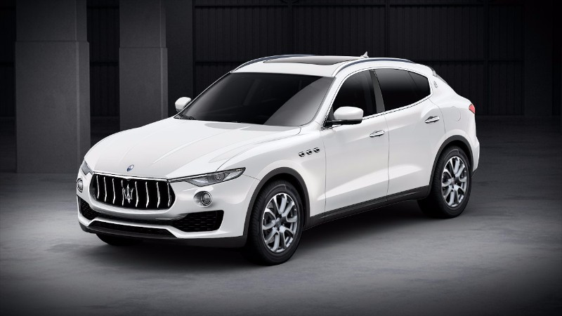 Maserati levante colors
