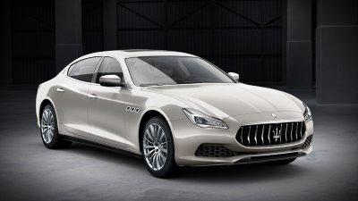 2018 Maserati Quattroporte S in Bianco Alpi Metallic