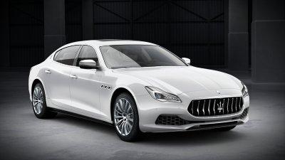 2018 Maserati Quattroporte S in Bianco