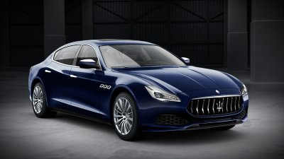 2018 Maserati Quattroporte S in Blu Passione Metallic