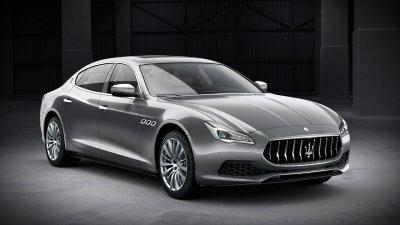 2018 Maserati Quattroporte S in Grigio Metallic