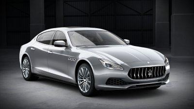 2018 Maserati Quattroporte S in Grigio Metallo Metallic