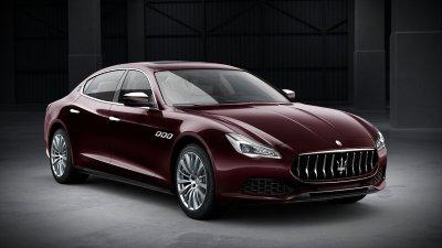 2018 Maserati Quattroporte S in Rosso Folgore Metallic