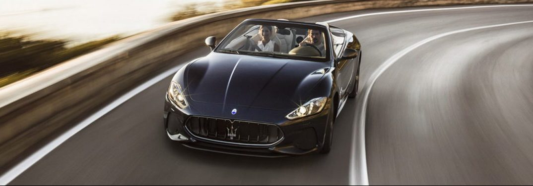 full view of the 2018 Maserati GranTurismo Convertible