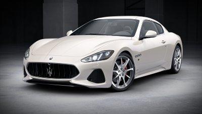 2018 Maserati GranTurismo Bianco Birdcage